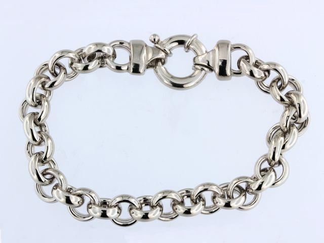 Silver Rolo Link Bracelet