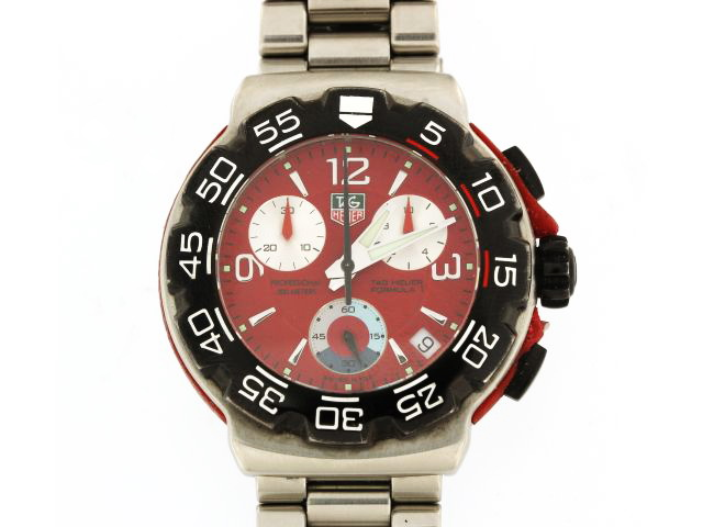 Red Dial F1 Tag Heuer