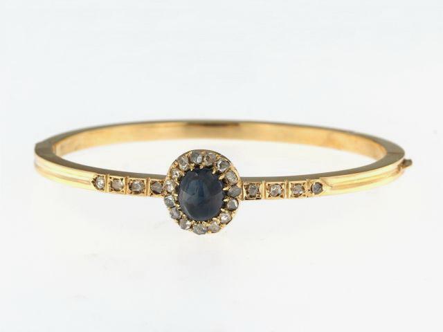 Cabochon Sapphire Bracelet