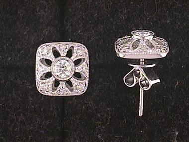 .33ctw Diamond Studs