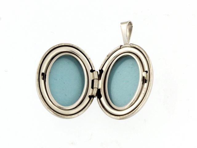 Engravable Silver Locket
