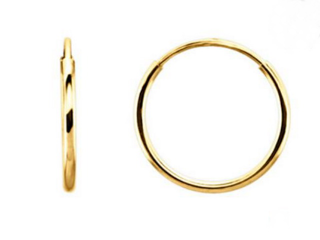 20 mm Sleeper Hoop Earring