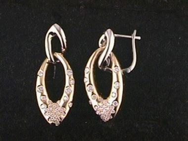 .59ctw Dangle Earrings