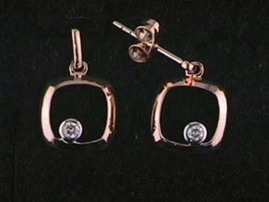 0.07ctw Diamond Earrings