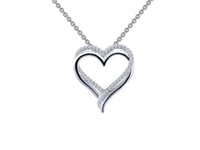 Double Open Heart Pendant