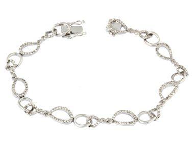 18KT Diamond Bracelet