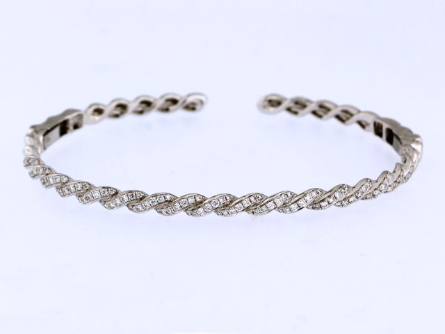 18KT Twist/Rope Bangle