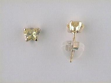 10ky November Butterfly Earrings