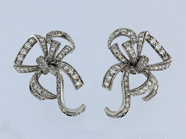 18KT Bow Earrings