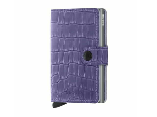 Lavender Secrid Mini Wallet