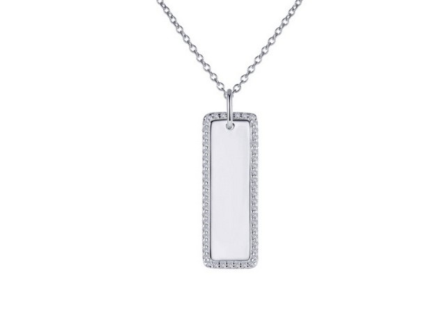 Cubic Vertical Bar Pendant