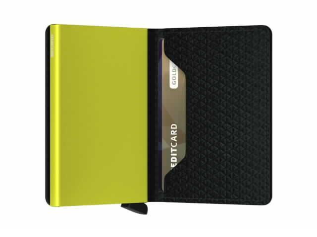 Diamond Black Slim Wallet