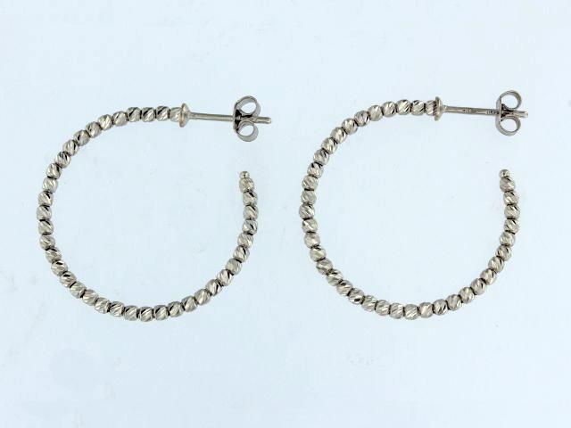 Faceted Bead Earrings