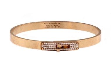 18KT Hermes Kelly Bracelet