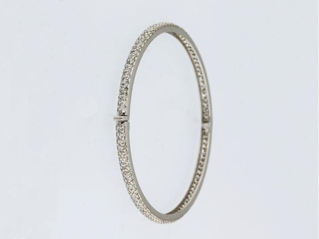 2.50 ctw Diamond Bangle Bracelet