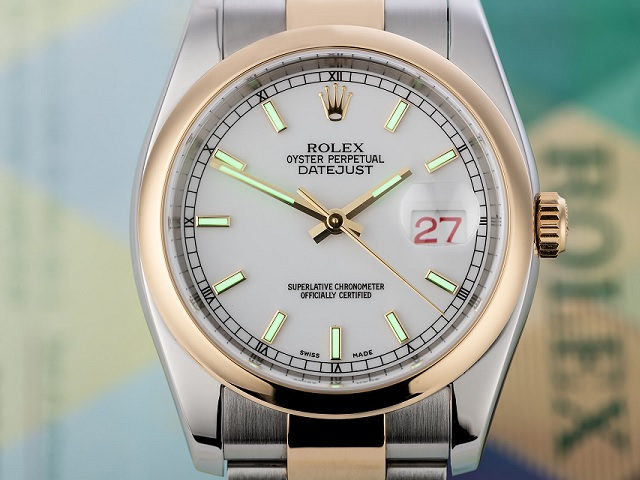Rolex Oyster Perpetual Datejust Two-Tone