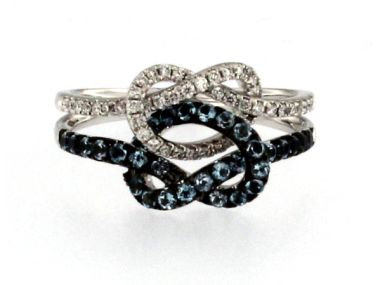 18KT Knot Ring