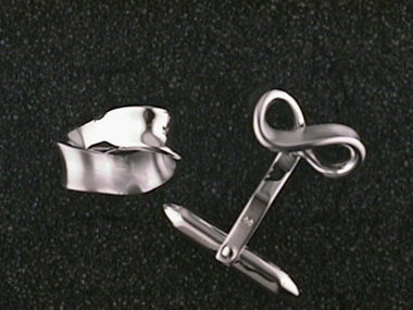 Ribbon Cufflinks