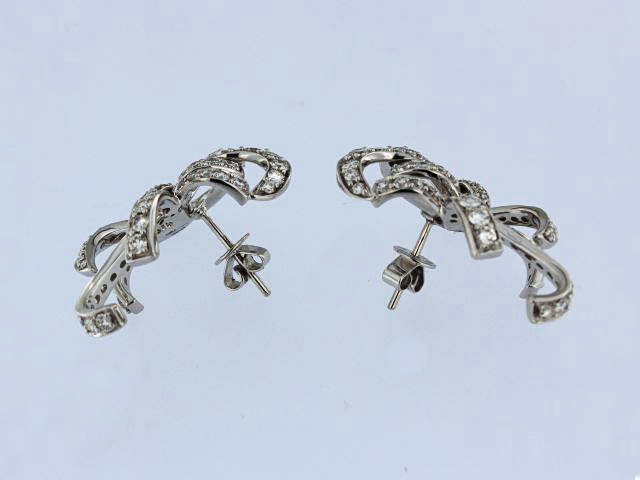18KT Bow Earrings