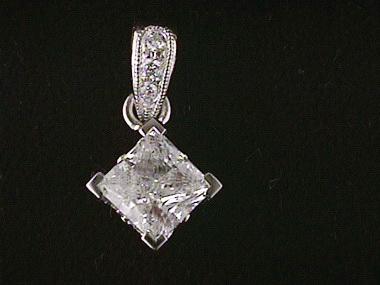 .72ct I1 G/.03ctw Diamond Pendant