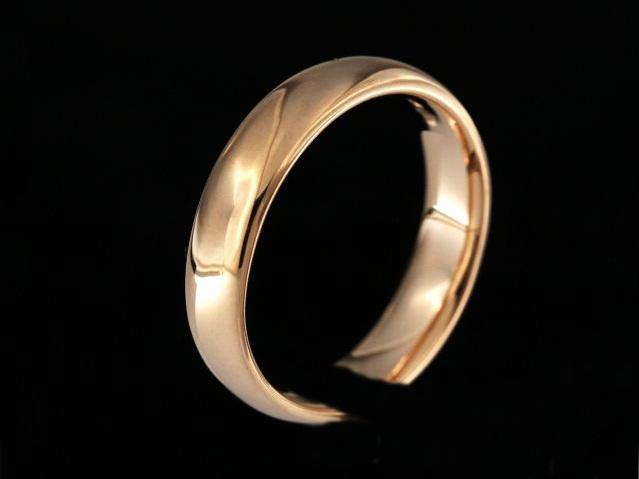 5 mm Rose Gold Band