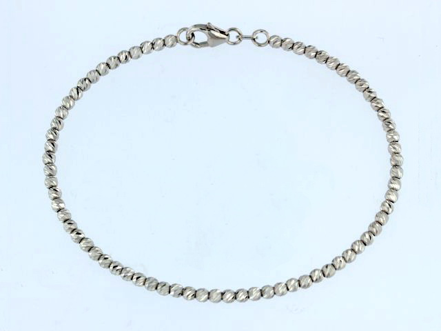 Faceted Bead Bangle