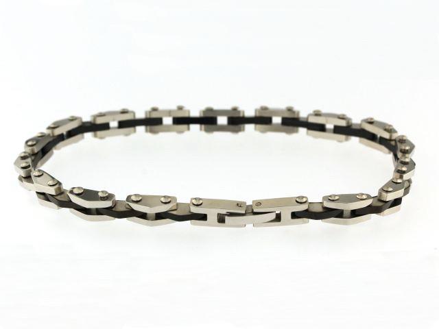 Black & Steel Bracelet