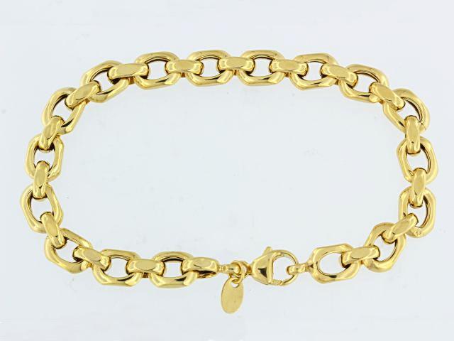 14KT Fancy Link Bracelet