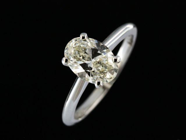 1.30 ct Oval Diamond Ring