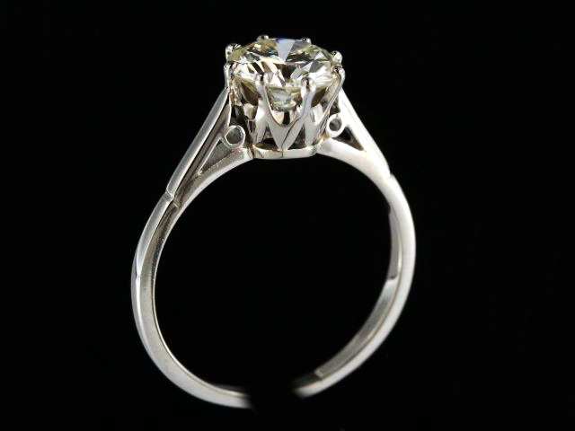 1.63 ct Solitaire Engagement Ring