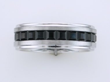 Cobalt Band with Black Detail