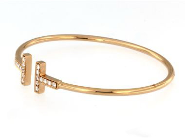 "18KT ""T"" Bracelet"