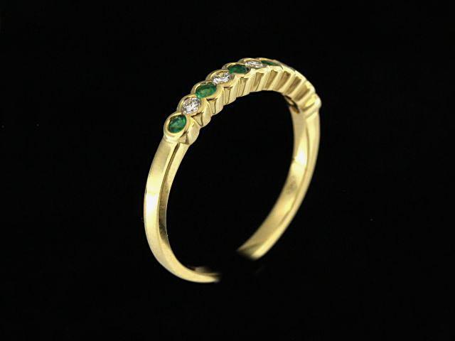 Emerald & Diamond Band