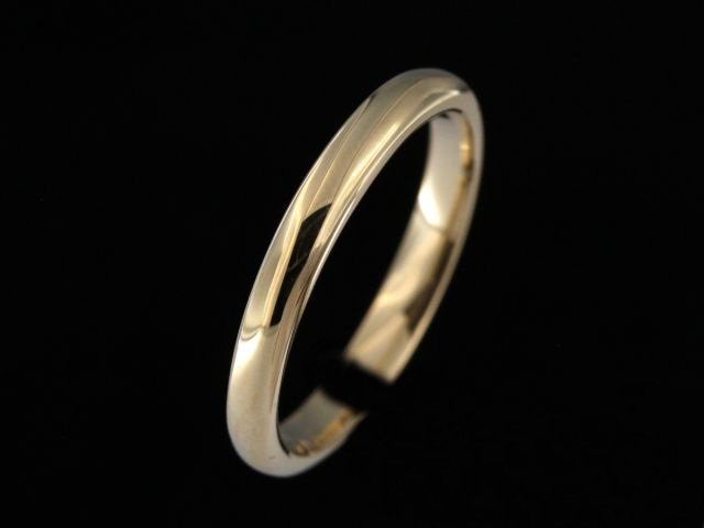 2.70 mm Domed Wedding Band