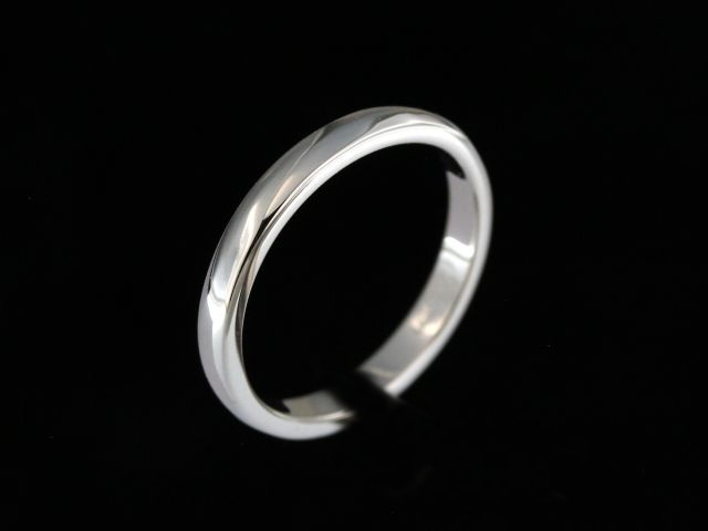 2.50 mm Domed Wedding Band