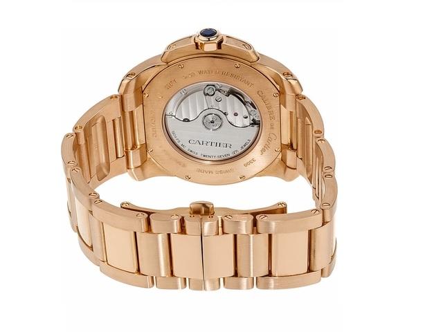 Calibre de Cartier18k Rose Gold Watch