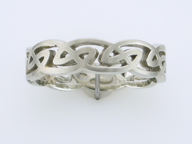 14kw Celtic Wed Band